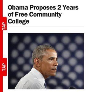 Obama 2 yrs CmtyClg